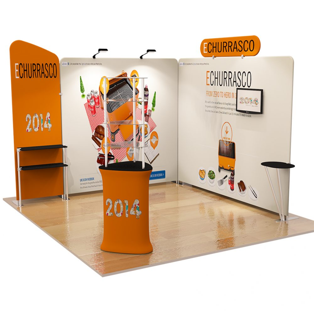 Fabric Exhibition Stand Yet : Tension fabric ft exhibition kit pged exhibition displays