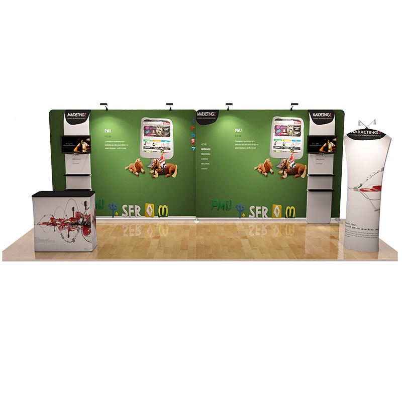 Exhibition Stand Tension Fabric : Tension fabric ft exhibition kit pged