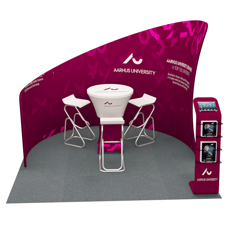Tension Fabric Exhibition Stands : Tension fabric ft exhibition kit pged