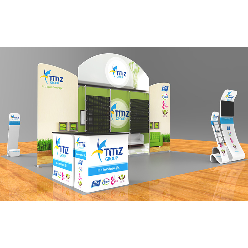 Tension Fabric Exhibition Stands : Tension fabric ft exhibition kit pged delivering to